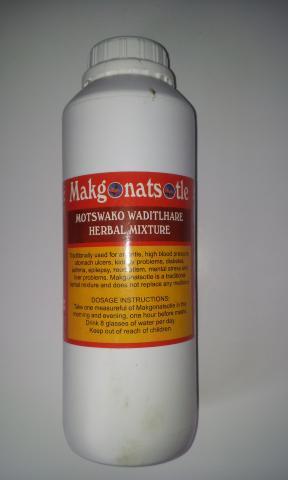 Motswako waditlhareherbal mixture